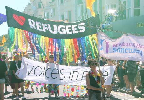 The UK Government must stop detaining LGBTQI people fleeing persecution