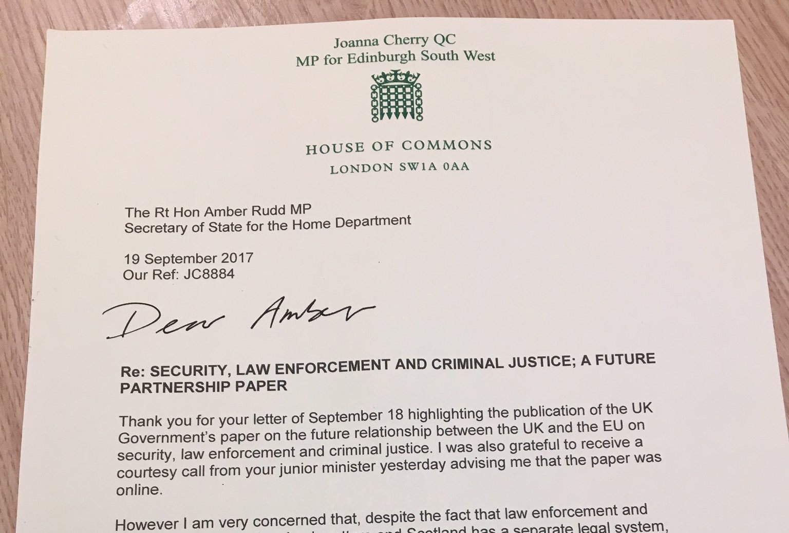 UK Government Partnership Papers